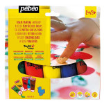 Peinture enfant - Je peins avec les doigts 5 x 80 ml