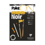 Bloc Paint'On papier Noir 250 g/m² 20 F - 14,8 x 21 cm (A5)