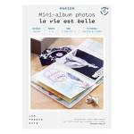 Kit papier Mini-albums la vie est belle