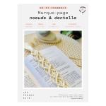 Kit DIY Marque-pages nœuds & dentelle