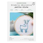 Kit savoir-faire Broderie décorative petite biche
