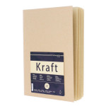 Carnet de croquis Kraft 120g/m²  A4 20 feuilles