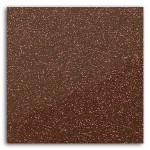 Tissu pailleté thermocollant 21 x 30,5 cm - Marron