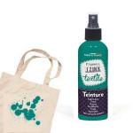 Teinture textile Izink Bleu vert eucalyptus - 80 ml