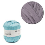Creative Paper - Papier à crocheter - Gris - 55 m