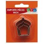 3 mini emporte-pièces inox - Cupcakes - GM :4 x 3.4 cm