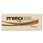 Pâte polymère Premo 454 g - 5093 - Ecru