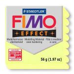 Pâte polymère Fimo Double Effect 56g - 106 - Jaune Citrine