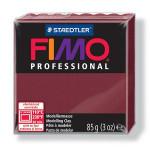 Pâte polymère Fimo Pro 85 g - 23 - Bordeaux