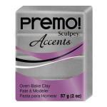 Pâte à modeler Premo Accent - Argent
