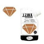 Peinture pailletée Izink Diamond 80 ml - Cuivre