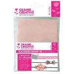 Bracelet plastique dingue - Kit transparent et rose