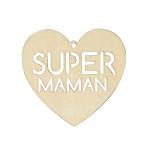 Suspension en bois Super Maman