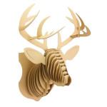 Trophée Cerf en carton 54 cm
