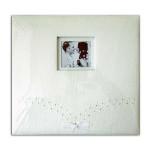 Album scrapbooking 30 x 30 cm Mariage ivoire