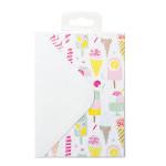 Cartes et enveloppes Kit Magical Summer x 12 pcs