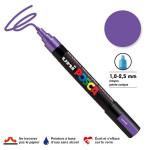 Marqueur PC-5M pointe conique moyenne - Violet métal