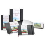 Livre de papier aquarelle Watercolour Book 200 g/m² - 30 pages Paysage - 14,8 x 10,5 cm (A6)