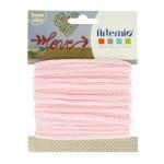 Fil tricotin - Rose pastel - 5 mm x 5 m