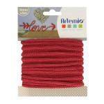 Fil tricotin - Rouge - 5 mm x 5 m