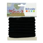 Fil tricotin - Noir - 5 mm x 5 m