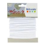Fil tricotin - Blanc - 5 mm x 5 m