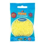 Perle à repasser Mini 2000 pièces - Pastel jaune