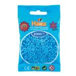 Perle à repasser Mini 2000 pièces - Pastel bleu