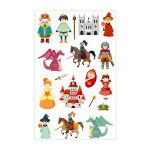 Stickers 3D Cooky chevaliers x 18