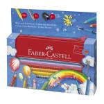 Crayon de couleur aquarellable Colour Grip + Trousse - Set Arc en ciel