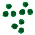 Pompons 15mm set de 60 - Vert