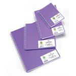 Carnet Dessin Notes couverture polypropylène Violet 50 F - 14,8 x 10,5 cm (A6)