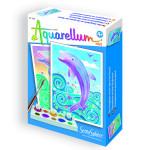Aquarellum mini dauphins Funfrag