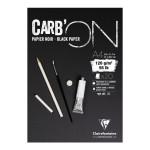 Bloc croquis Carb'On Papier noir 120 g/m² - 20 Fles - 42 x 59,4 cm (A2)