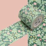 Masking Tape x Artist William Morris Feuillage fleuri 50 mm x 10 m