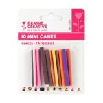 Mini canes Assortiment Glaces x 10 pcs
