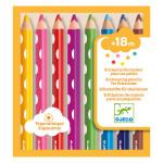 Crayon de couleur pour enfant 8 couleurs
