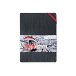 Carnet Zig Zag 300 g/m² 18 pages - 14 x 14 cm