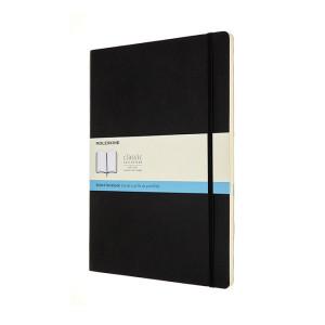 Carnet de notes Classic souple grille pointillés A4 Noir