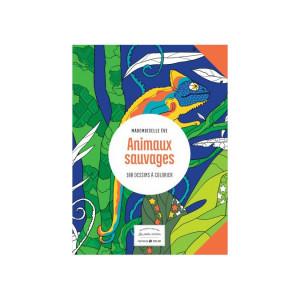 Livre de coloriage Animaux sauvages