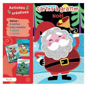 Cartes à gratter Noël