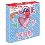 Broderie Diamant kit Dotz Box Enfant débutant Love you