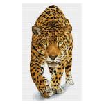Broderie Diamant kit Squares intermédiaire Prince jaguar + cadre