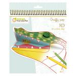 Coloriage Graffy 3D Animaux de la savane