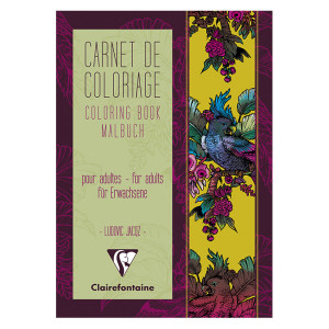 Album de coloriage Tapisserie Française