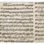 Papier Lokta 51 x 76 cm 150 g/m² Notes Musique