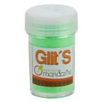 Paillettes en salière Glit's - Vert fluo