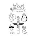 Tampons clear Totem Grand Manitou - 6 pcs