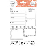 Stampo Planner Page jour - 19 tampons